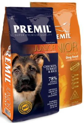 Корм Premil Junior SuperPremium
